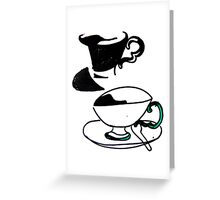tea cup's Greeting Card