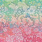 Soft Pastel Rainbow Doodle by micklyn
