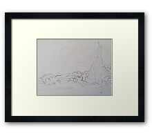 Ode to Vincent van Gogh Framed Print