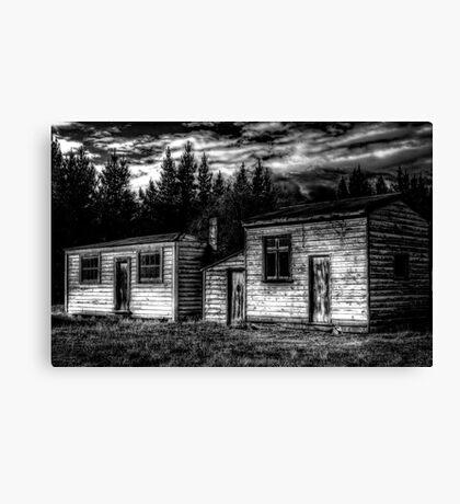 Historic Sheds Canvas Print