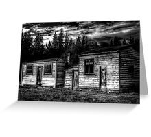 Historic Sheds Greeting Card