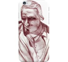 1898 Stage actor iPhone Case/Skin
