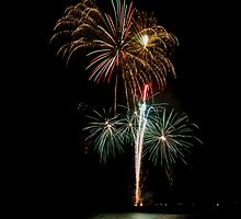 New Years Eve 2014 ~ Fireworks by Kim Ogden