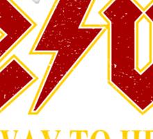 Jesus - Highway to Heaven Sticker