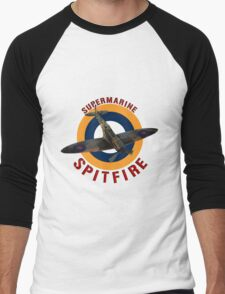 Supermarine Spitfire  Men's Baseball ¾ T-Shirt