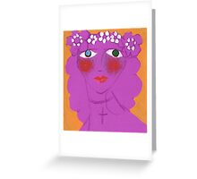 Rhapsody Rose Greeting Card