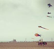 Sunday at Venice Beach - Kite by Kasia-D