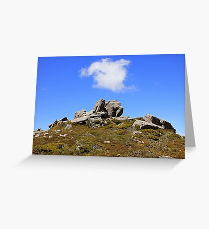 Conglomerate Formation Greeting Card