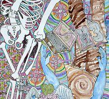 Blue Man & Dead Head by Maul Bang Bey