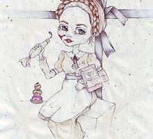 Agatha the doll by pepitapatuff