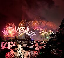 new year's eve 2014 of sydney - 5 by houenying