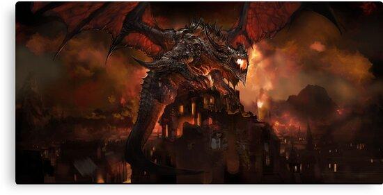 Dragon by MTGD