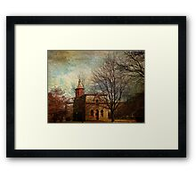 The Fitch Building Framed Print