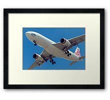 Virgin Australia Airbus A330 Framed Print