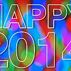 Happy 2014 by Richard G Witham
