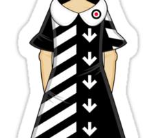 Mod Girl Sticker