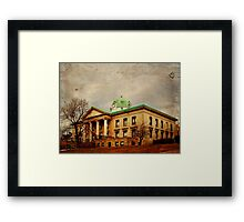 Sullivan County Court House Framed Print