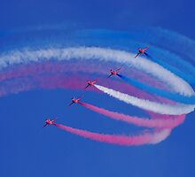 red arrows - formation flying by manxthor