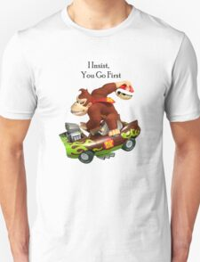 Mario I Insist you go first T-Shirt