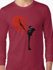 Black leg Long Sleeve T-Shirt