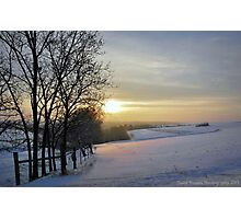 A Fresh Winter's Morn Photographic Print