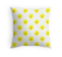 Little Sunshine Pattern Throw Pillow