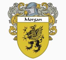 Morgan Coat of Arms/Family Crest by William Martin