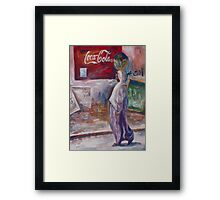 Just another day in Egypt  Framed Print