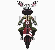 Zebra Mod & Retro Scooter Kids Clothes