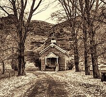 Little Chapel In Echo by Brenton Cooper