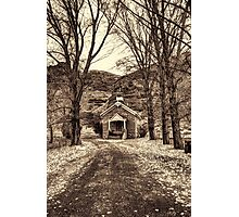 Little Chapel In Echo Photographic Print