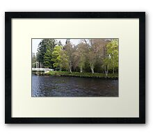 Islands in the River Ness Framed Print