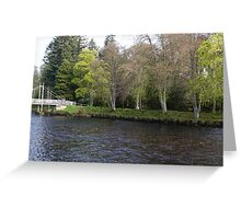 Islands in the River Ness Greeting Card