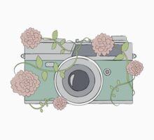 Floral Camera by Heather Clauson