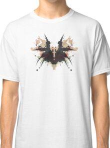 Freddy Krueger Glove Nightmare on Elm Street Inkblot Classic T-Shirt