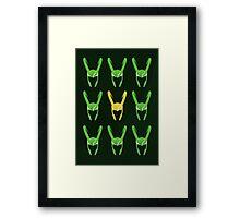 Loki Framed Print