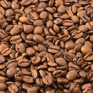 Coffee Beans Background by TilenHrovatic