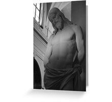 Cristo Trinita' Dei Monti Greeting Card