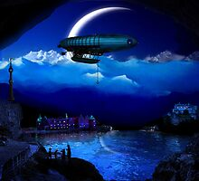 Night Flight to the Empire by pault55
