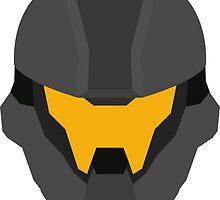 Halo Helmet Graphic by Harry McSwain