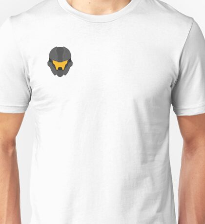 Halo Helmet Graphic Unisex T-Shirt