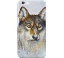 Wild wolf iPhone Case/Skin