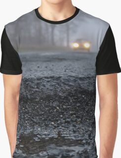 Asphalt`s holes on roadbed Graphic T-Shirt