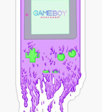 The Gameboy Melt Sticker