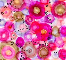oh so red and pink and bubbly by Regina Valluzzi