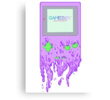 The Gameboy Melt Canvas Print
