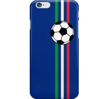 Football Stripes Italy iPhone Case/Skin