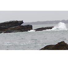 Splashing waves Photographic Print