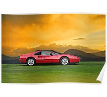 1987 Ferrari 328 GTS II Poster