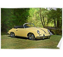 1972 Porsche 356 Cabriolet II Poster